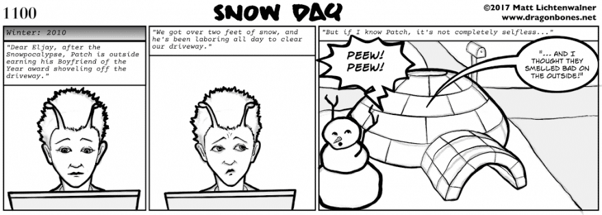 1100 - Snow Day