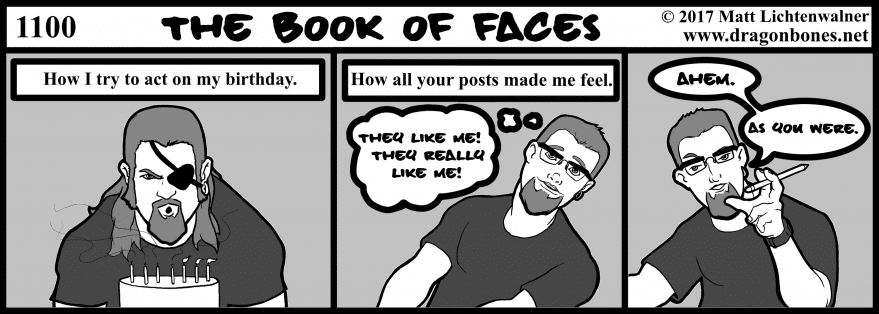 1100 - The Book of Faces