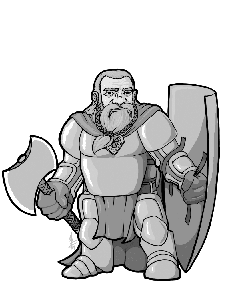 Snowbeard the Dwarf