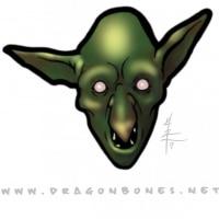 Colored Goblin Head