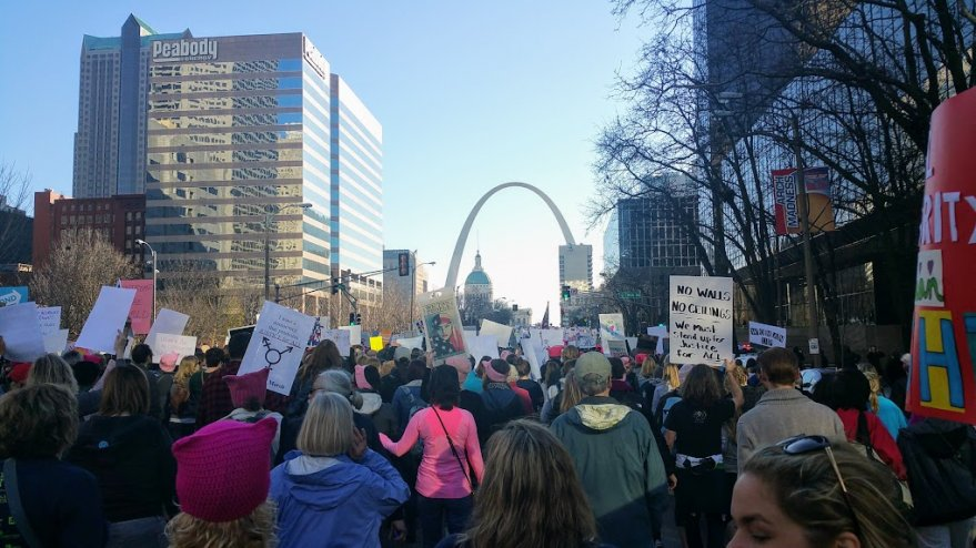 Women's Rally in Saint Louis