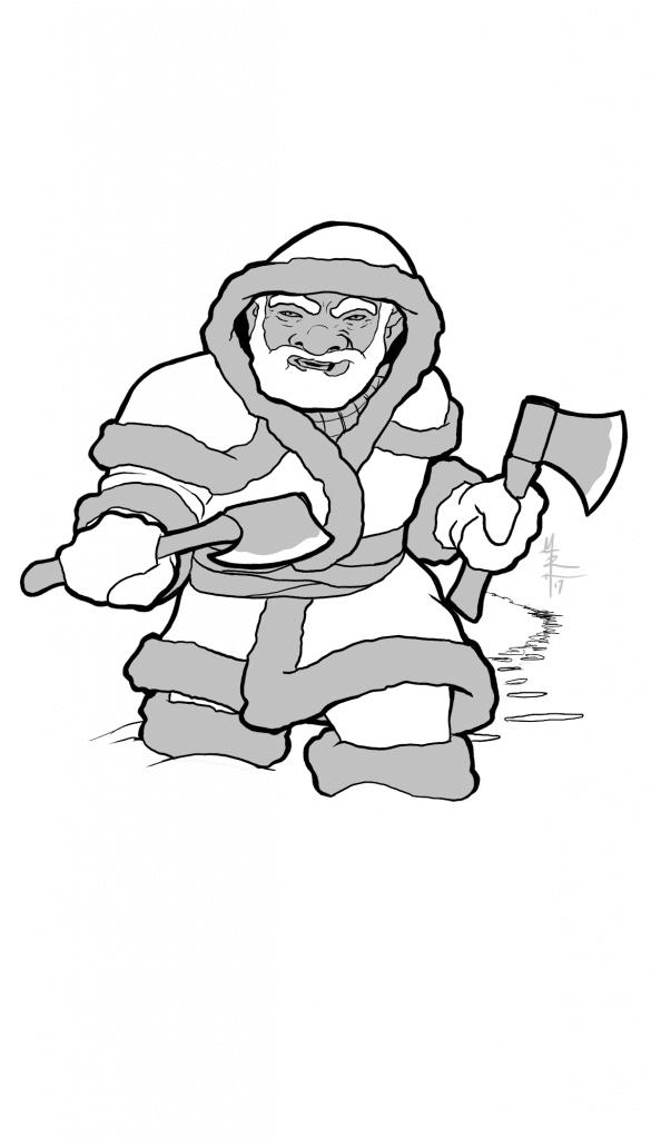 Arctic Dwarven Ranger