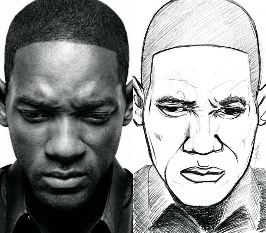 Will Smith Quick Portrait