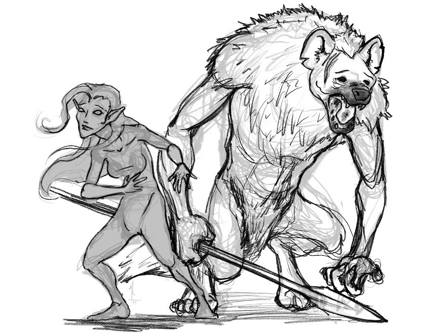 elf-and-gnoll