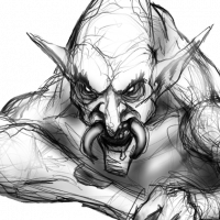 20200820-sketch-of-a-troll-eating-by-matt-lichtenwalner-dagonbones