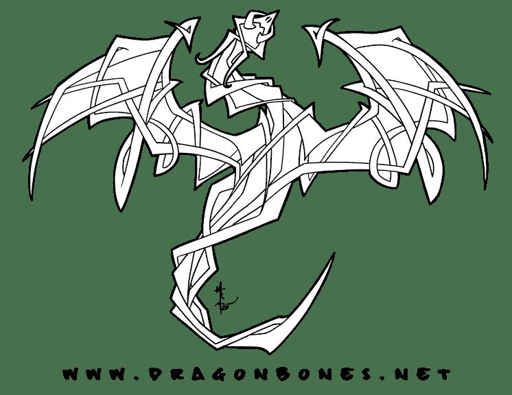 day-2-smaugust-2020-tribal-dragon