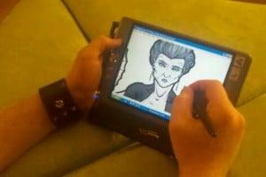ls-800 - my portable digital sketchbook