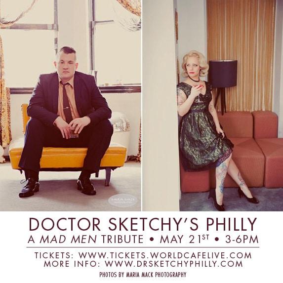 Dr. Sketchy's - Philadelphia May 21st 2011