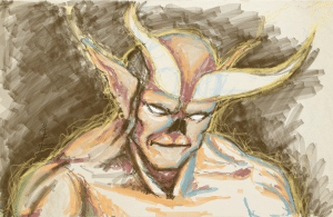 demon doodle made with http://sketch.odopod.com