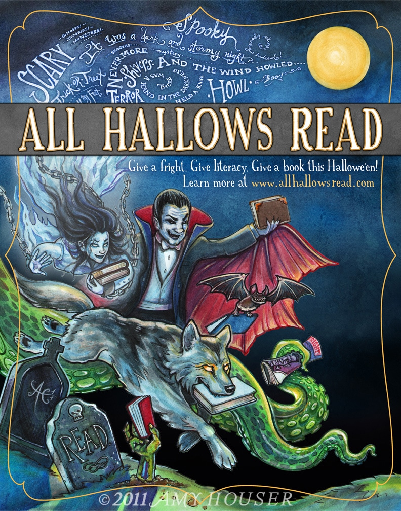 Amy Houser's Cover for All Hallows Read