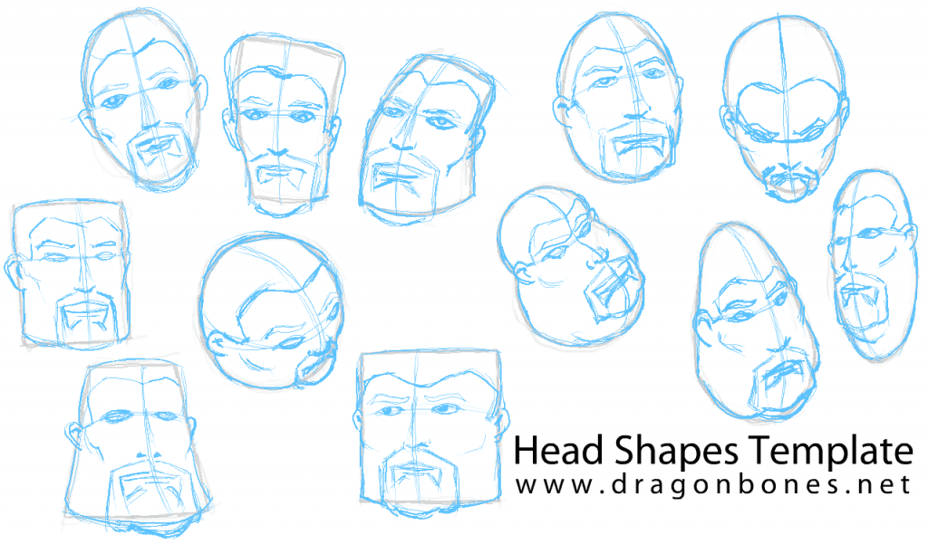 Head Shapes Template Stage 2