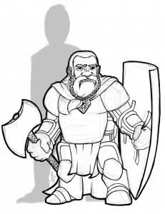 Snowbeard - Dwarven Warrior