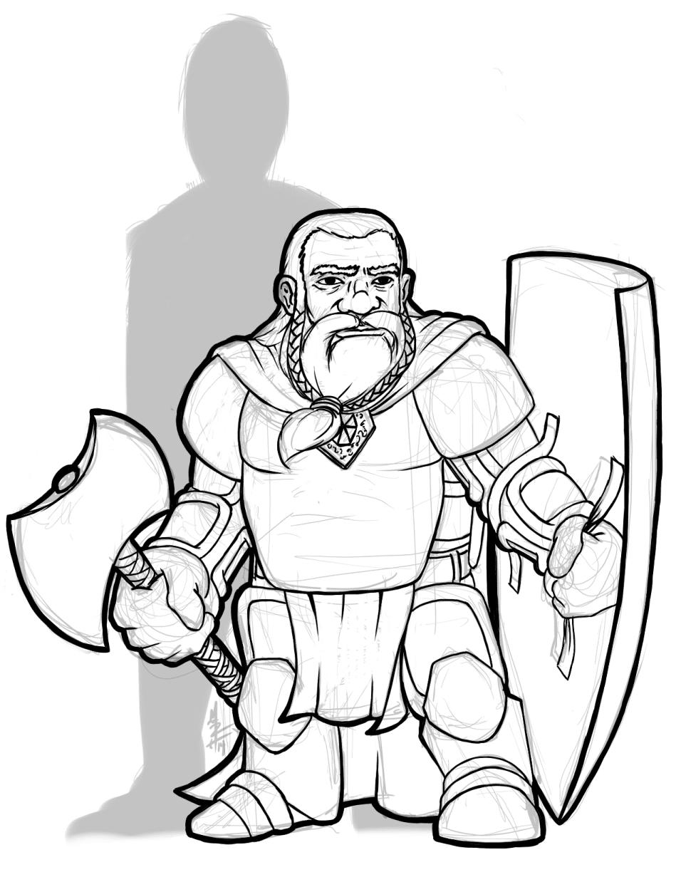 Snowbeard - Dwarven Warrior