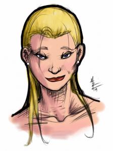 Dinner Doodle Blonde