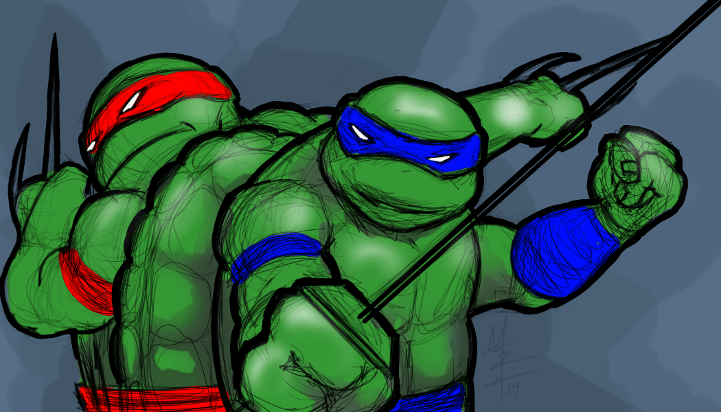 TMNT - Turtle Power!