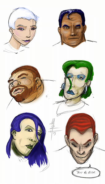 Head Shape Exercise - Colorfied!