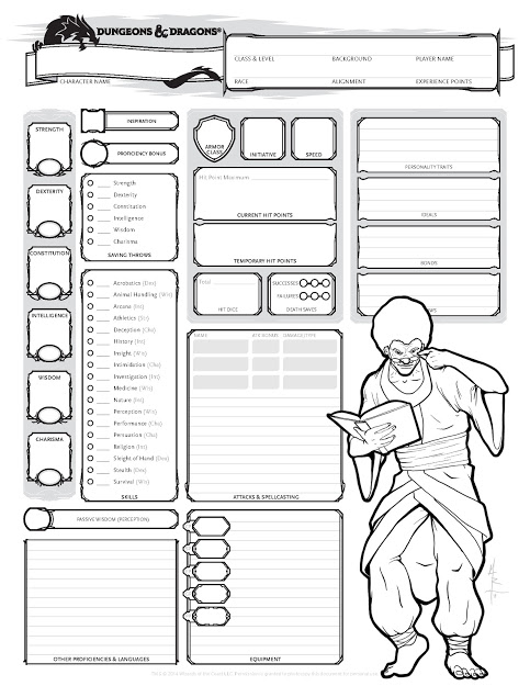 custom character sheets