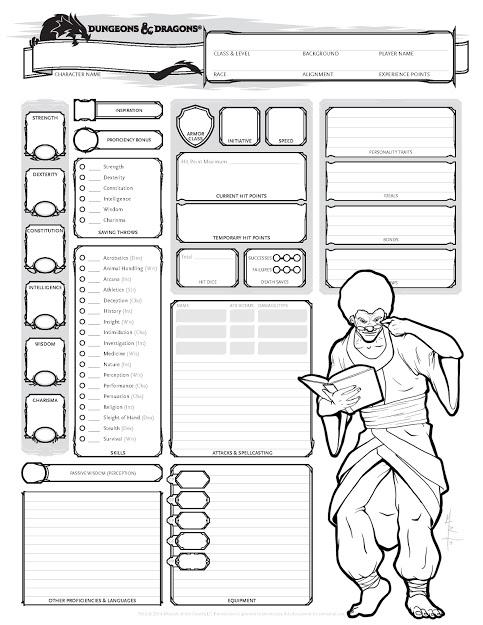 custom character sheets