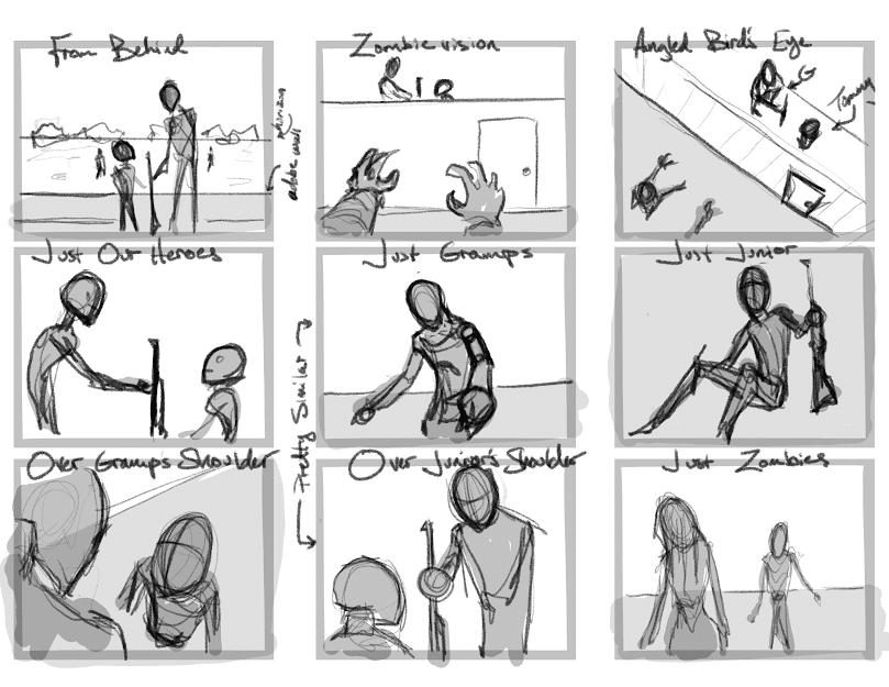 Zombie Thumbnails